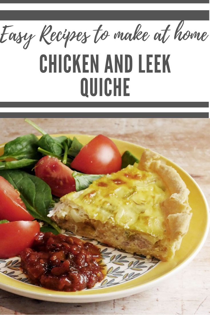 Chicken and Leek Quiche - testing Oast to Host Flour