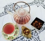 Farrer's pot of Blood Orange tea