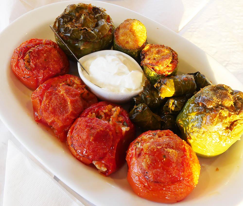 Gemista - Stuffed Vegetables