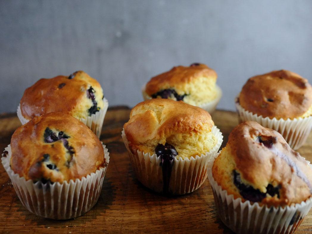 Gluten Free Blueberry Muffins 2