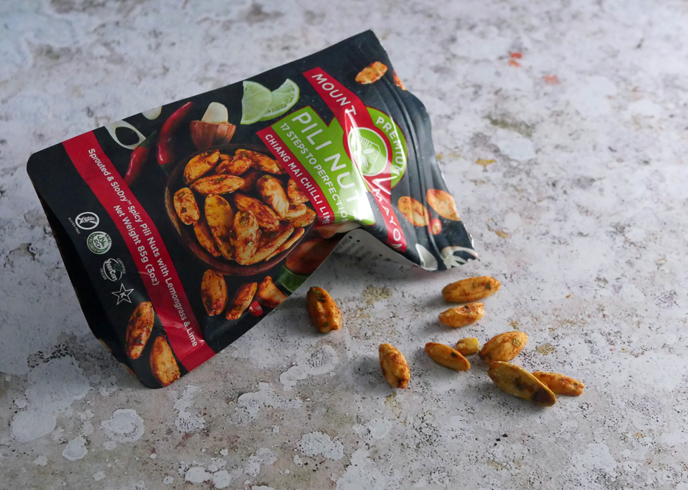Mount Mayon Chili Lime and Lemongrass Pili nuts