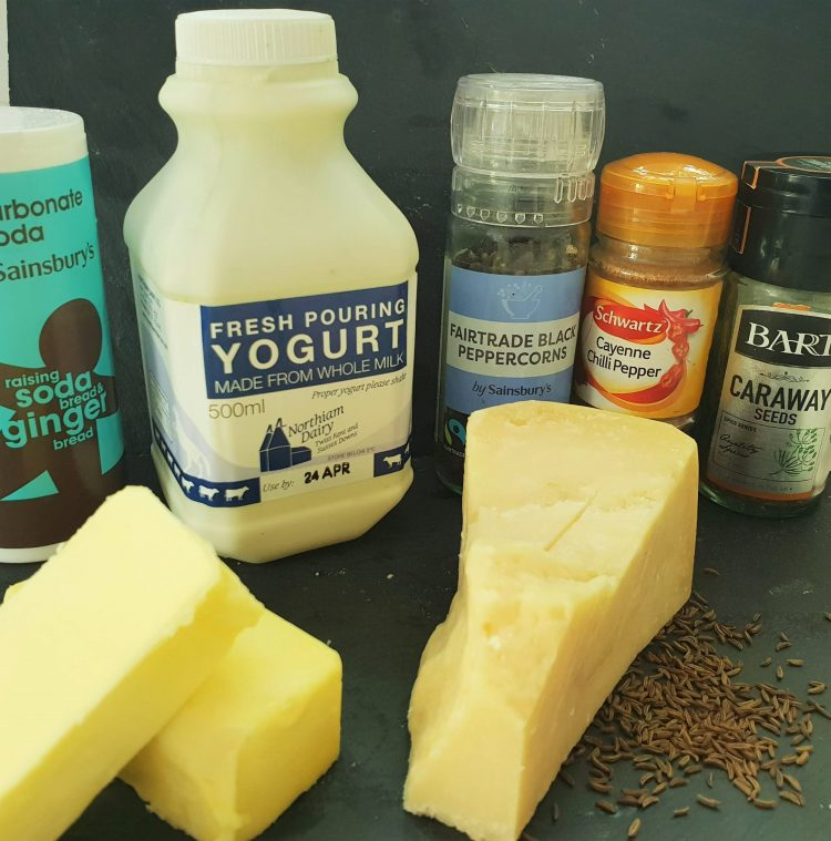 Parmigiano Reggiano biscuit ingredients
