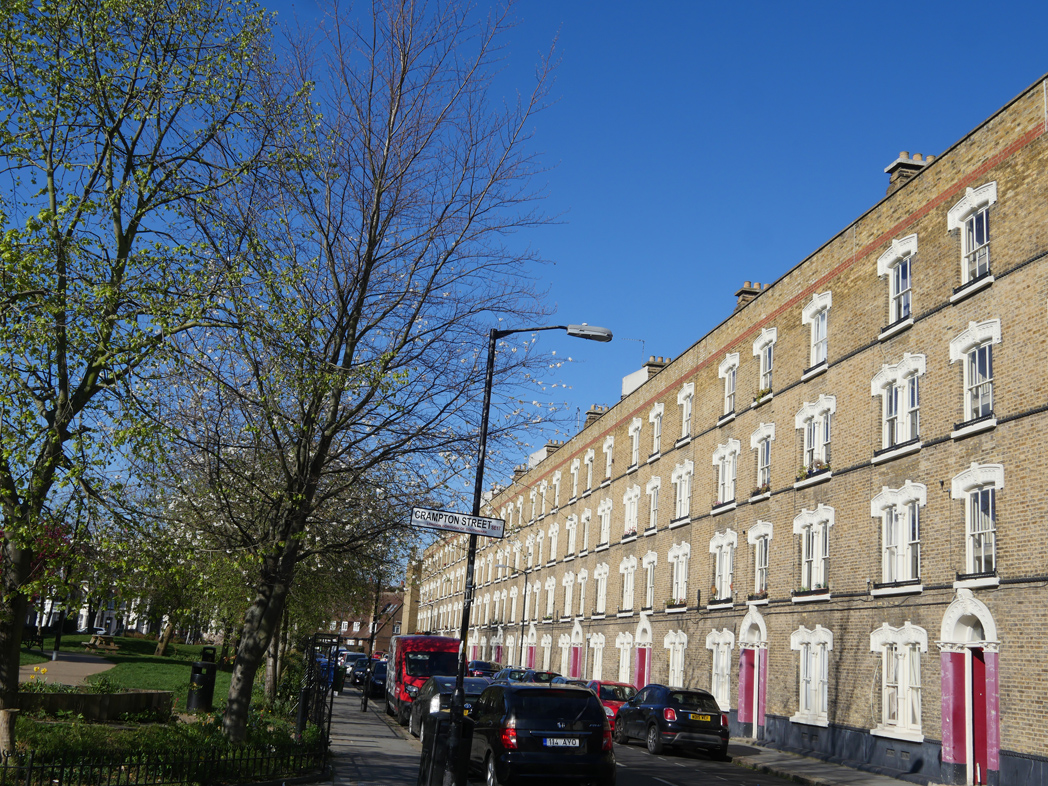 Pullens Buildings, Walworth London