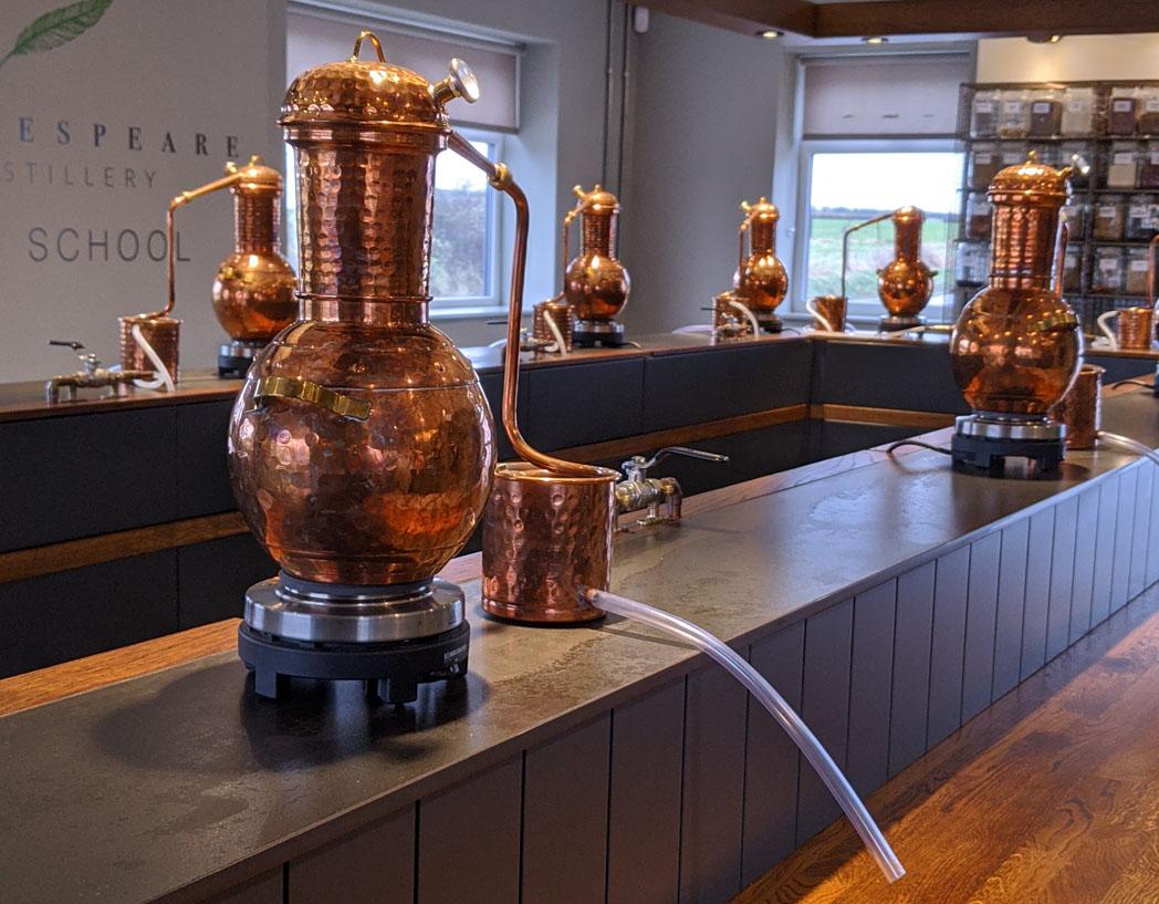 Shakespeare Distiller School - Gin Stills