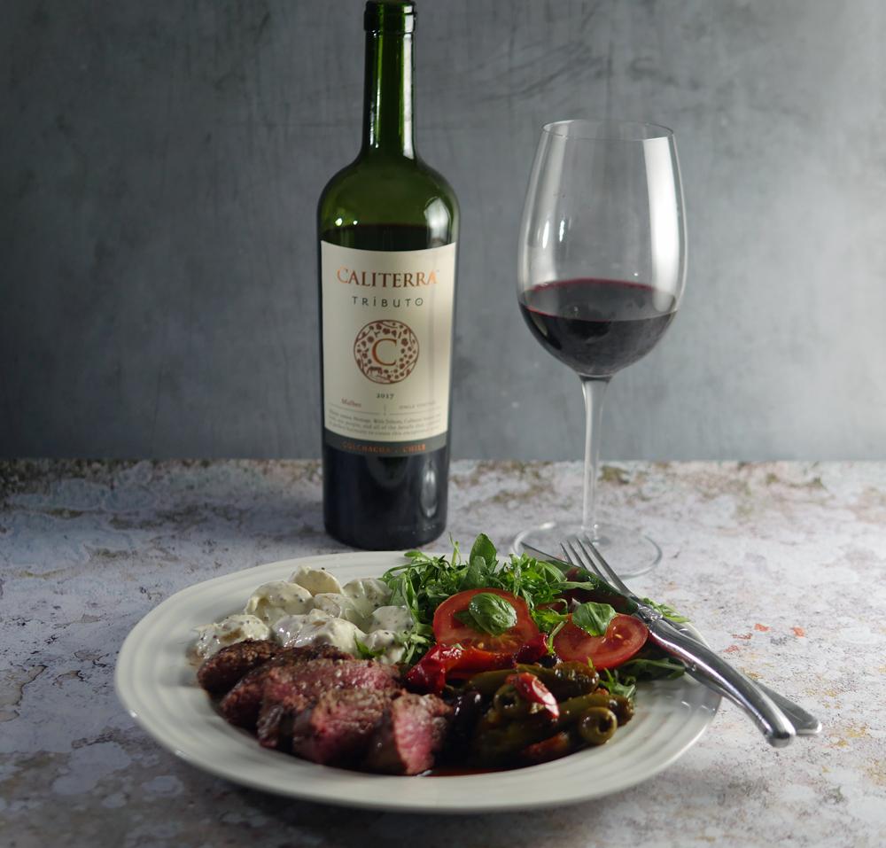 Sous-Vide Fillet Steak with Malbec