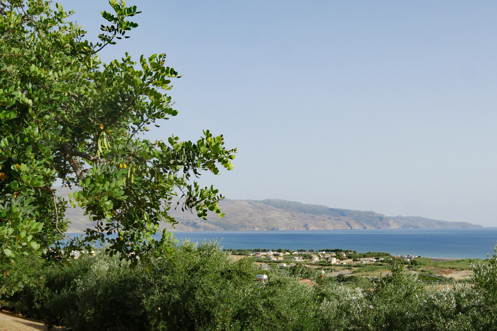 View from the German Cemetery Chania