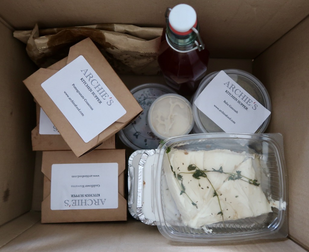 Archie's Kitchen Supper Delivery - delicious food you don't have to cook yourself