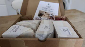Darts Farm cheese box