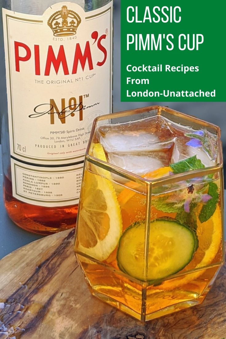 Classic Pimm\'s Cup for one
