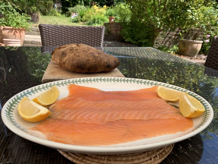Forman & Field smoked salmon