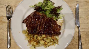 HG Walter steak dinner