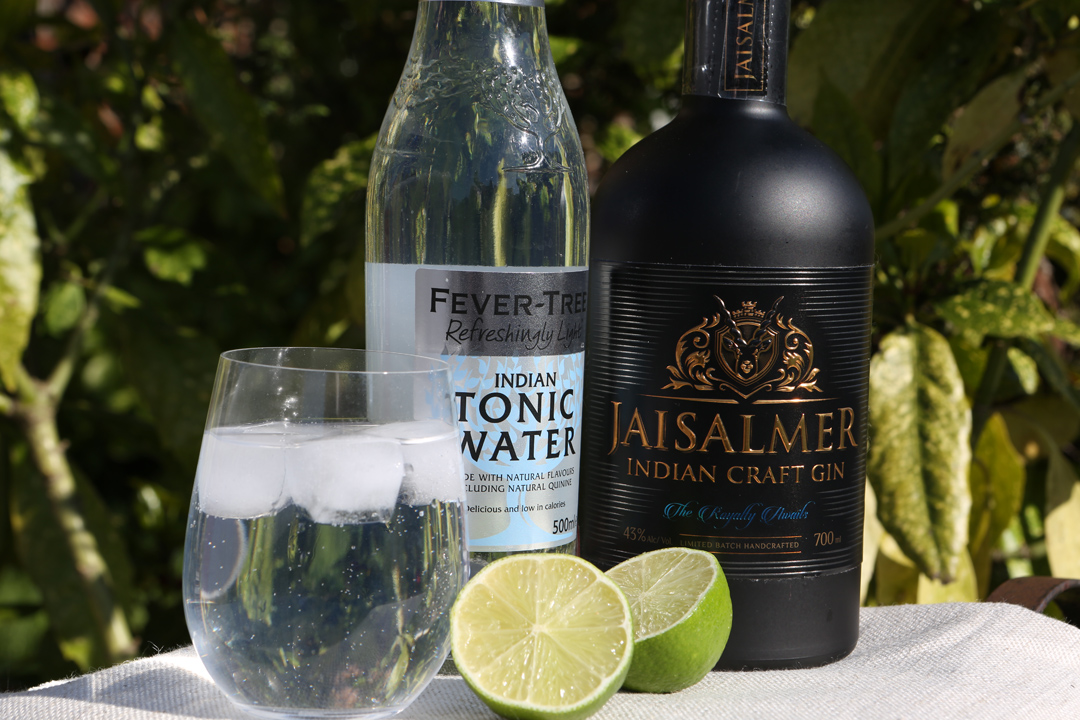 Jaisalmer Gin and Fevertree Tonic 2