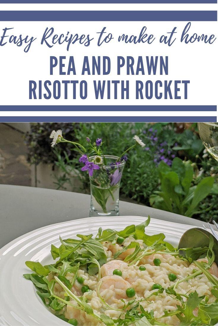 Prawn and Pea Risotto