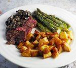 Sous-Vide Bavette Steak Served