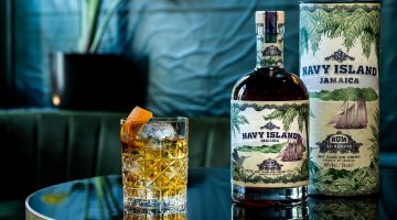 Navy Island XO Rum Old Fashioned