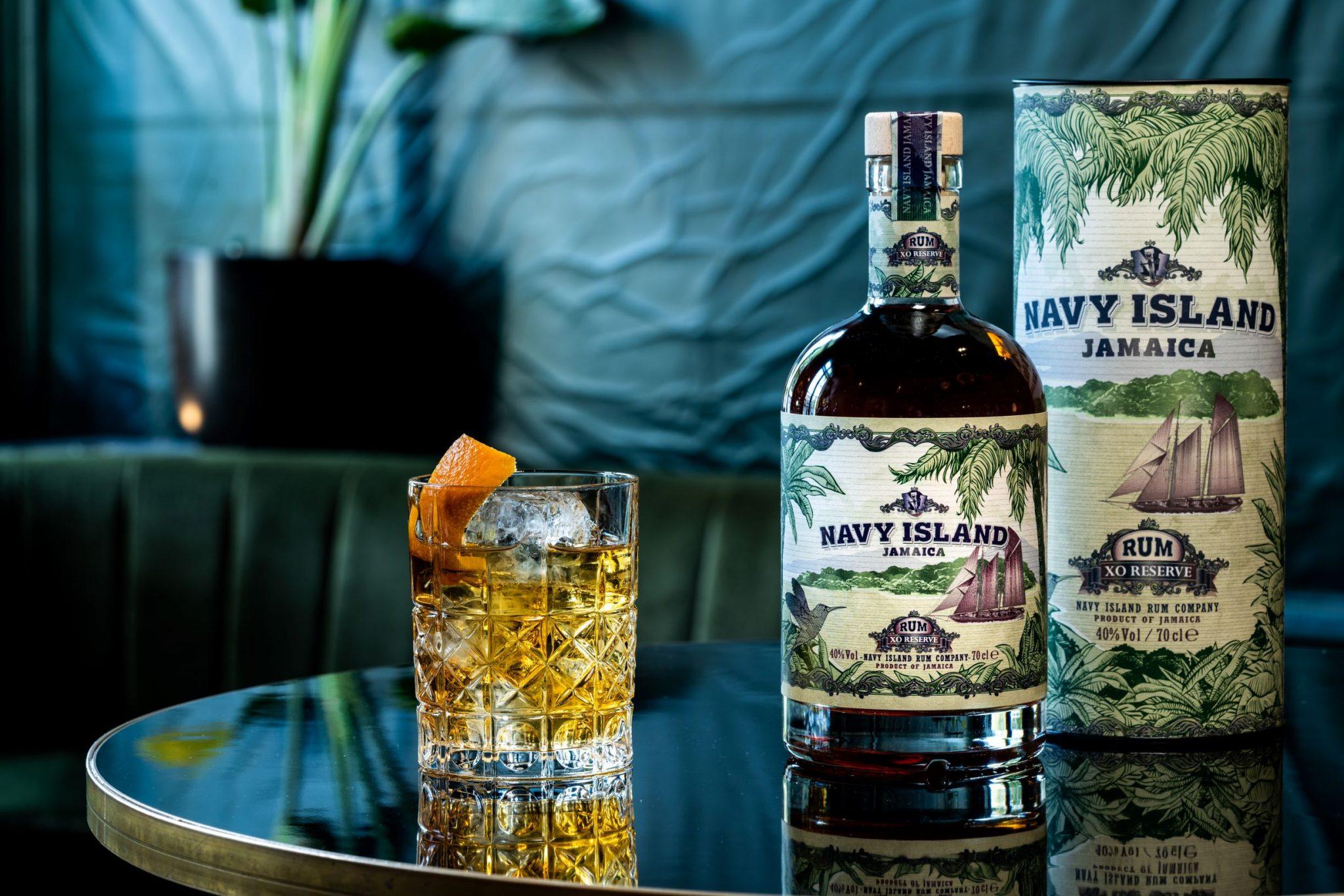 Navy Island XO Rum Old Fashioned