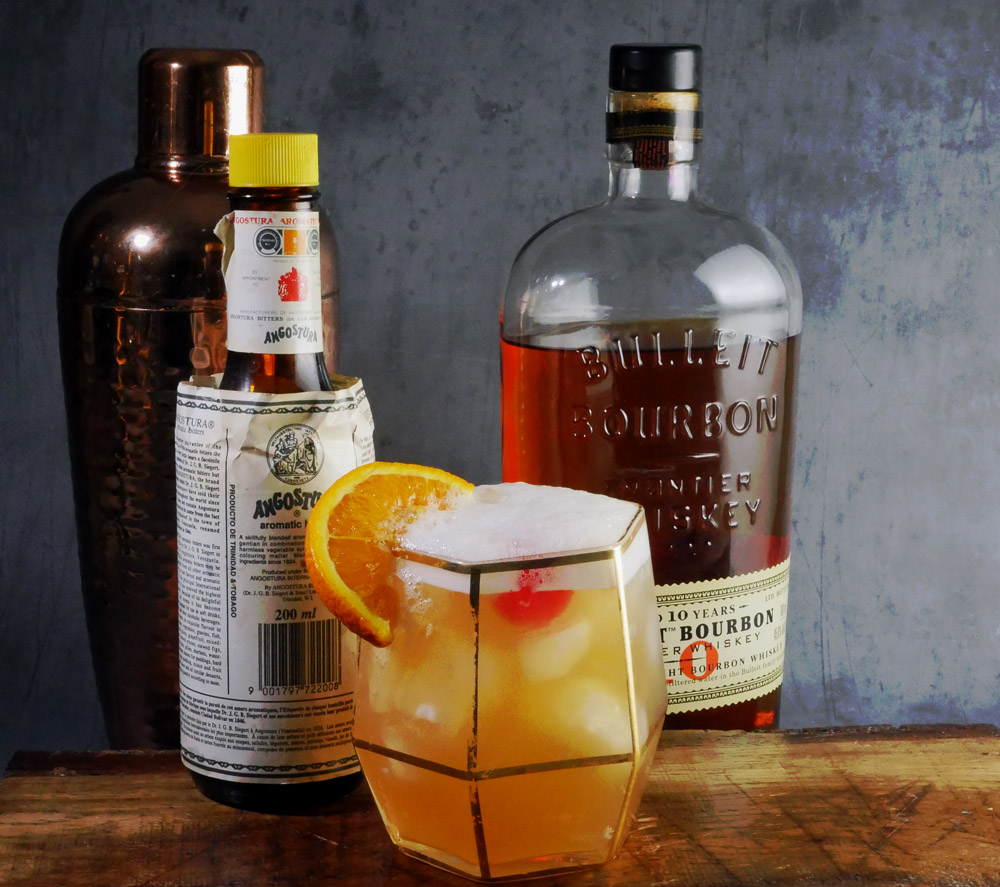 Whiskey Sour with Bulleit Bourbon