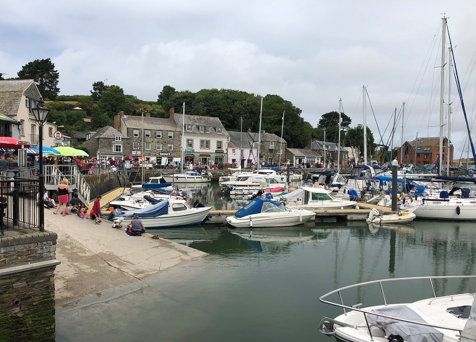 Padstow Harbour North Cornwall