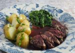 Pigeon Breast with Red Wine Sauce