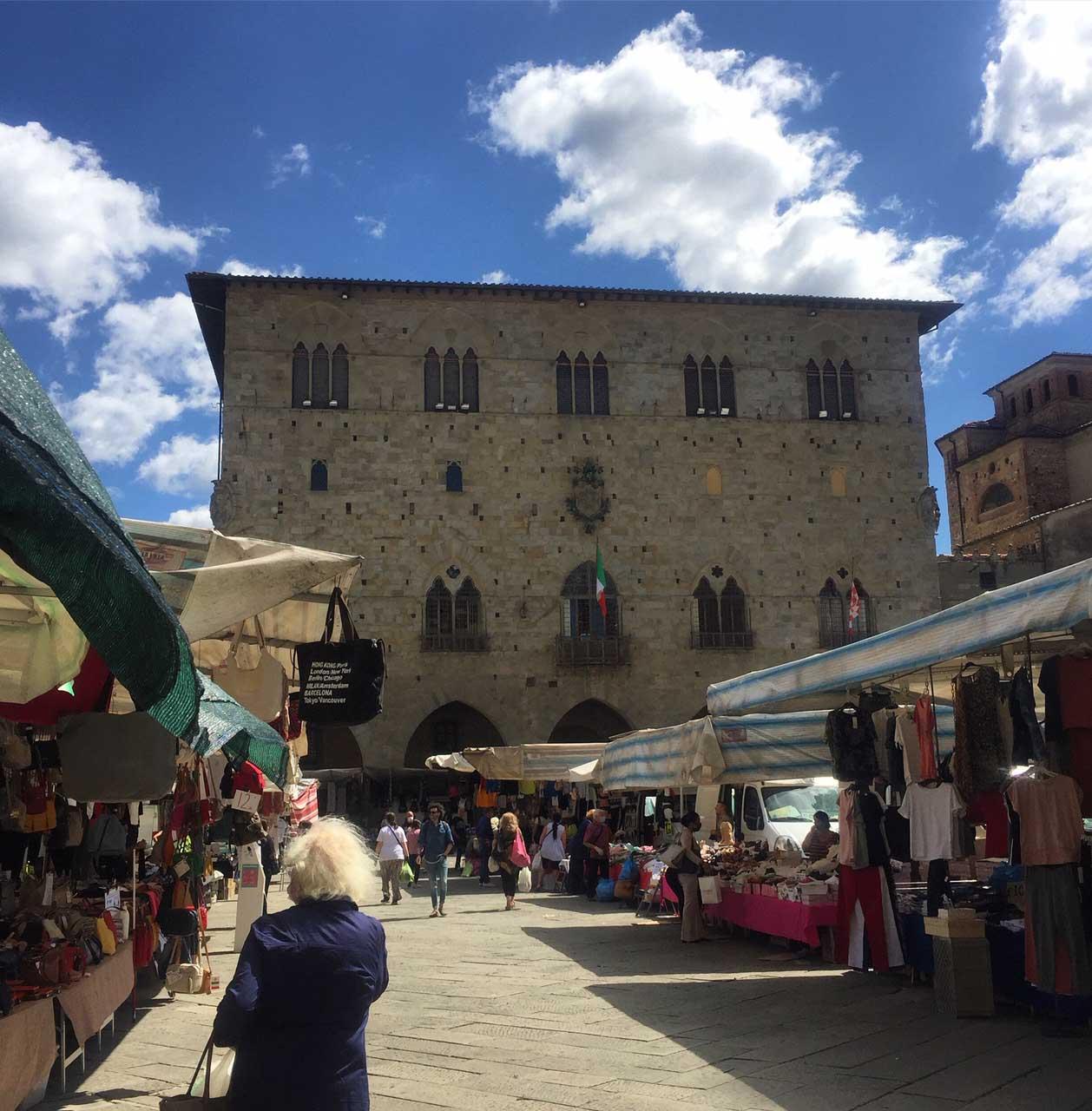 Pistoia Tuscany Market Square
