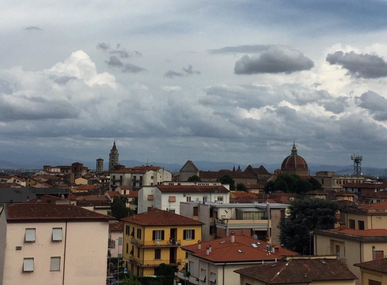 Pistoia Tuscany Rooftops