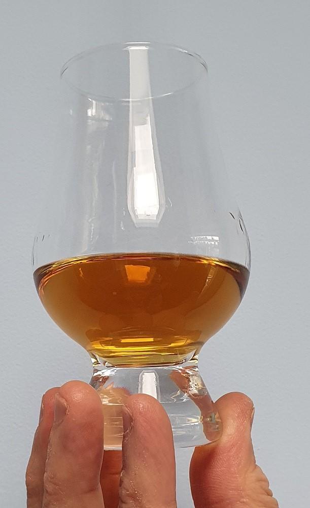 Talisker 10 year old single malt whisky in glass.j