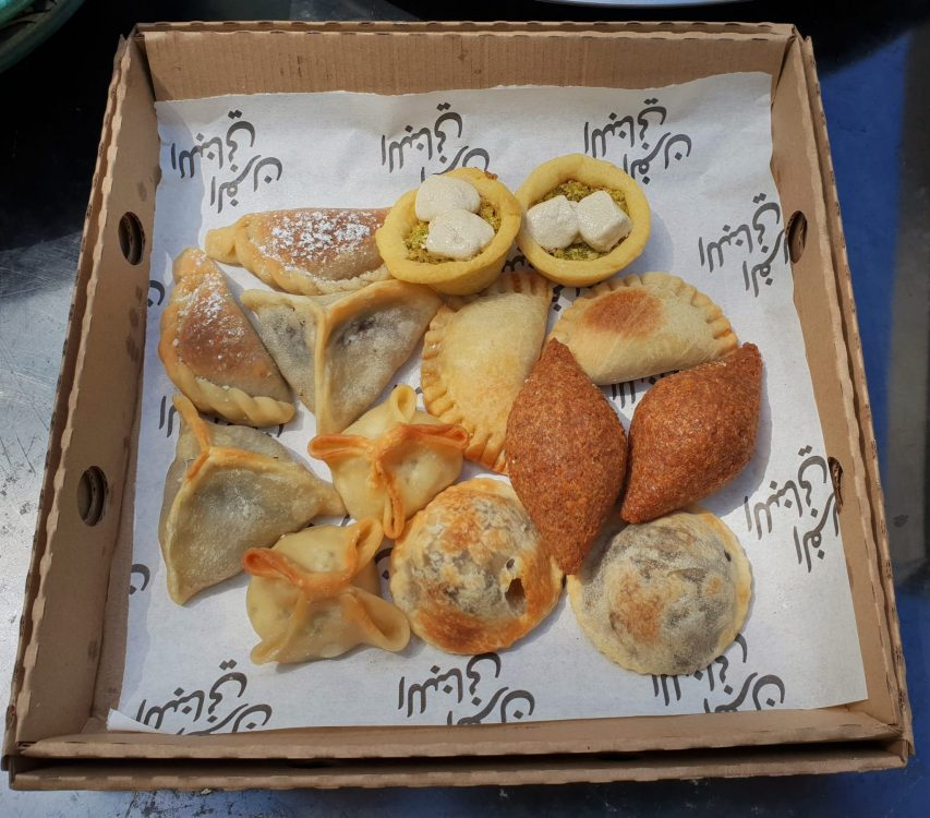 The Lebanese Bakery, collection of moujjanets