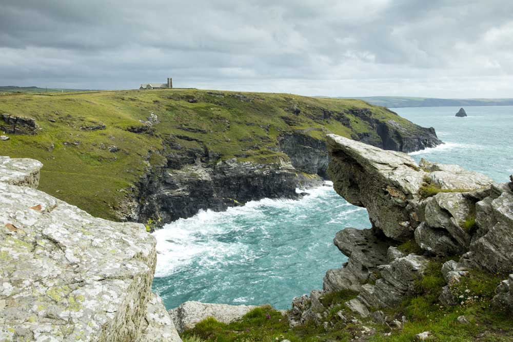 Tintagel Castle Cornwall - Copyright Matt Jessop
