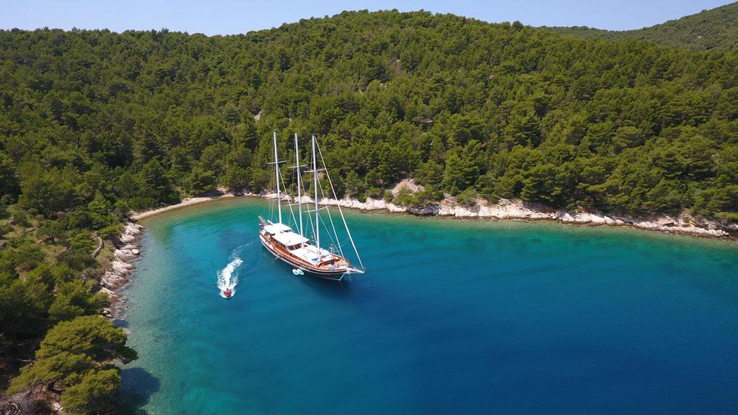 Cove with Goolet, Croatia