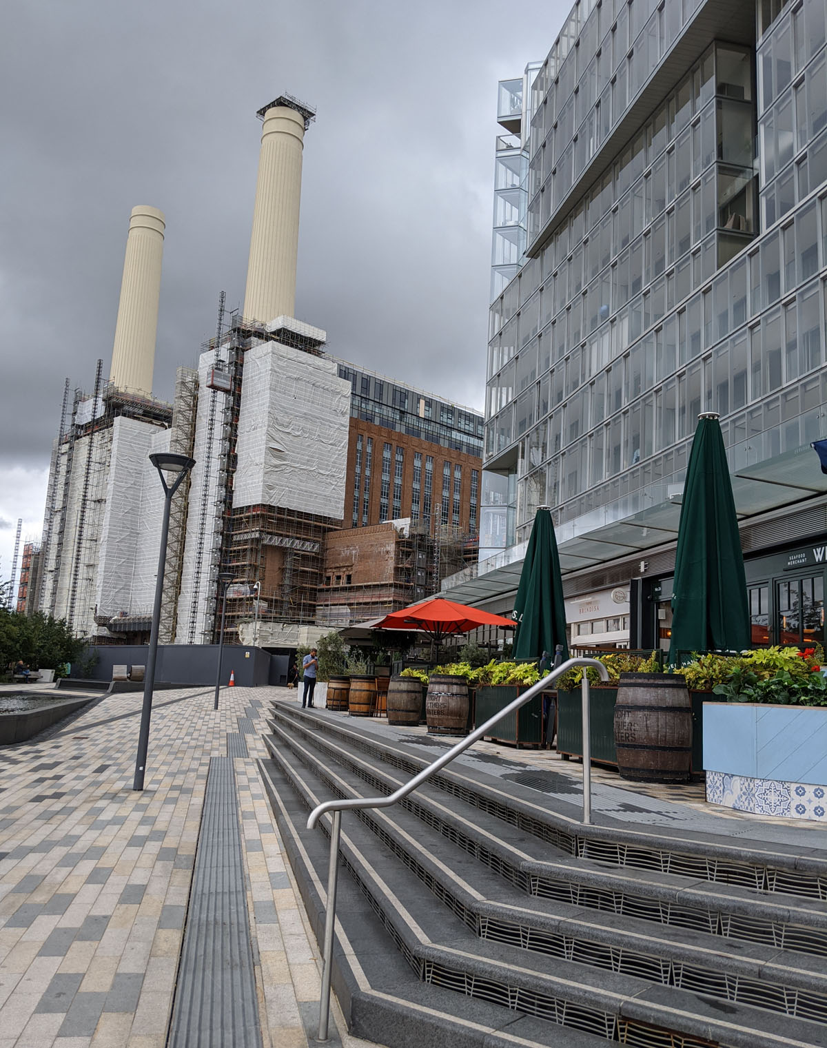 Battersea Power Station - Riverside Restaurants