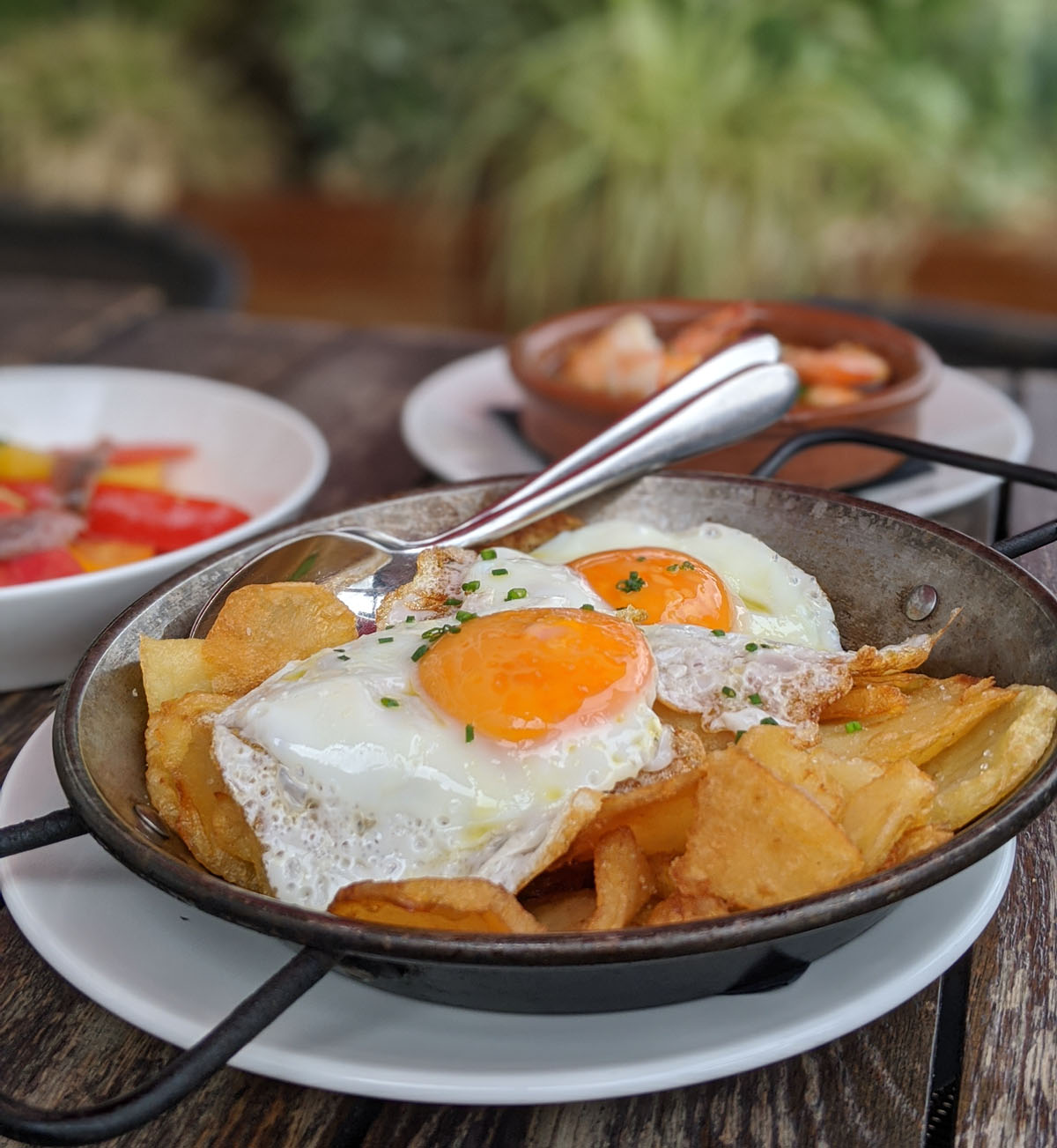 Broken Eggs Sobrasada Tapas Brindisa