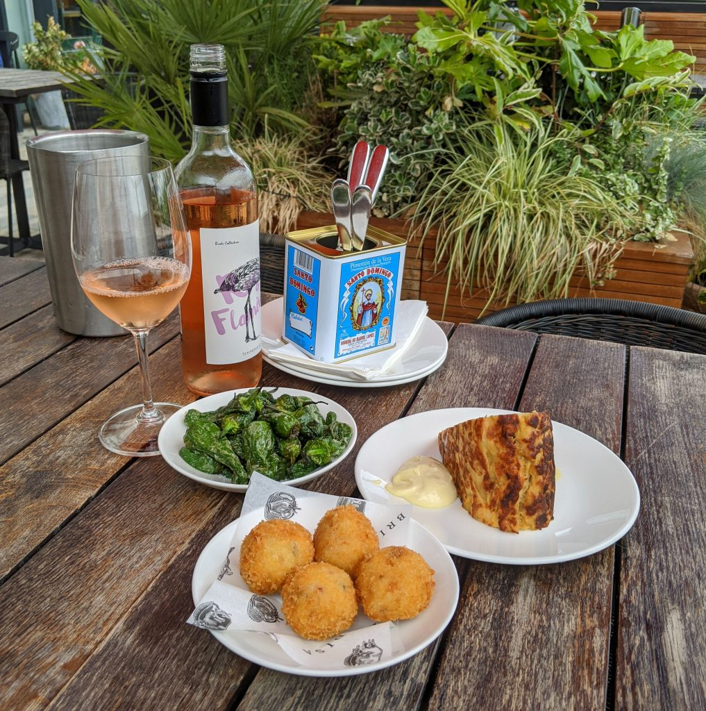 Tapas Brindisa - Padron Peppers, Tortilla and Croquetas