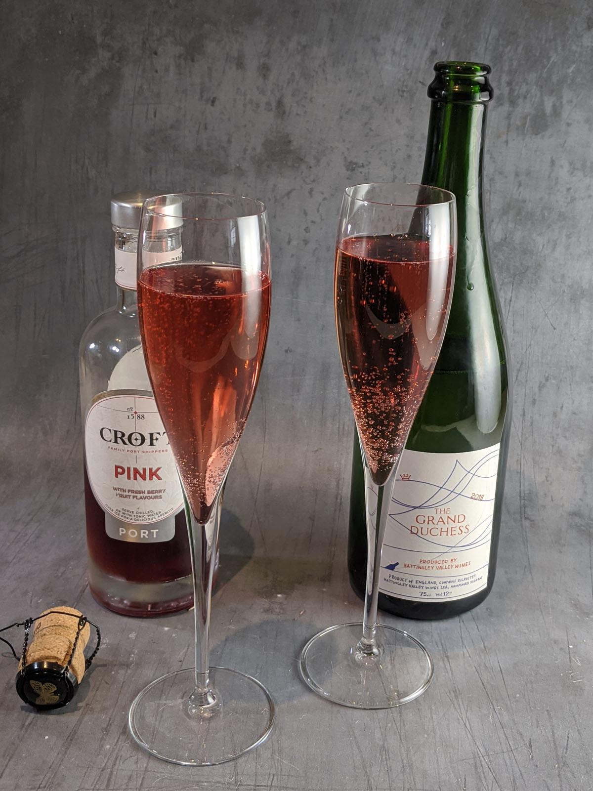 Croft Pink Port Cocktail