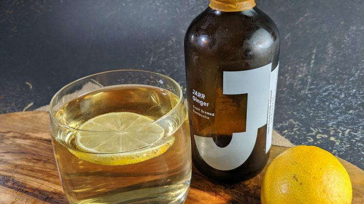 Jarr Kombucha Ginger with Lemon