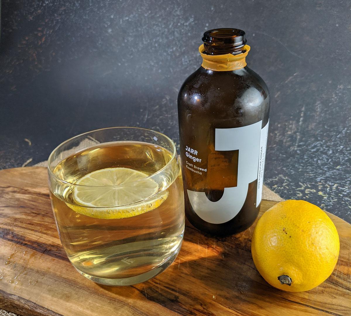 Jarr Kombucha Ginger with Lemon