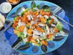 Jikoni, roast chicken salad