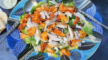 Jikoni, roast chicken salad