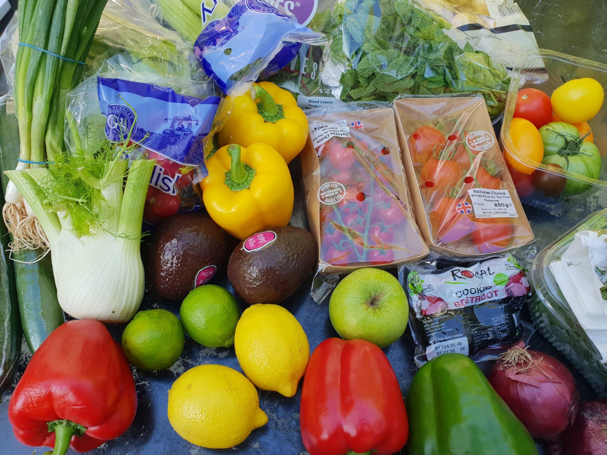 Natures Choice, summer salad box