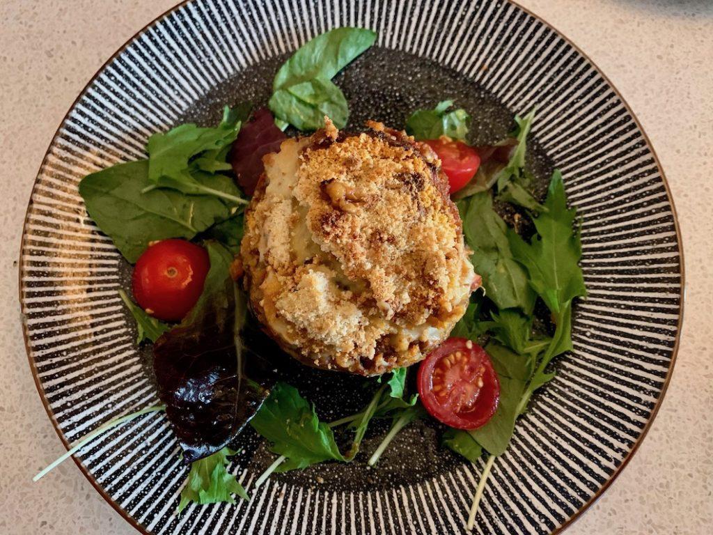 Nostos Greek Restaurant - vegetarian moussaka