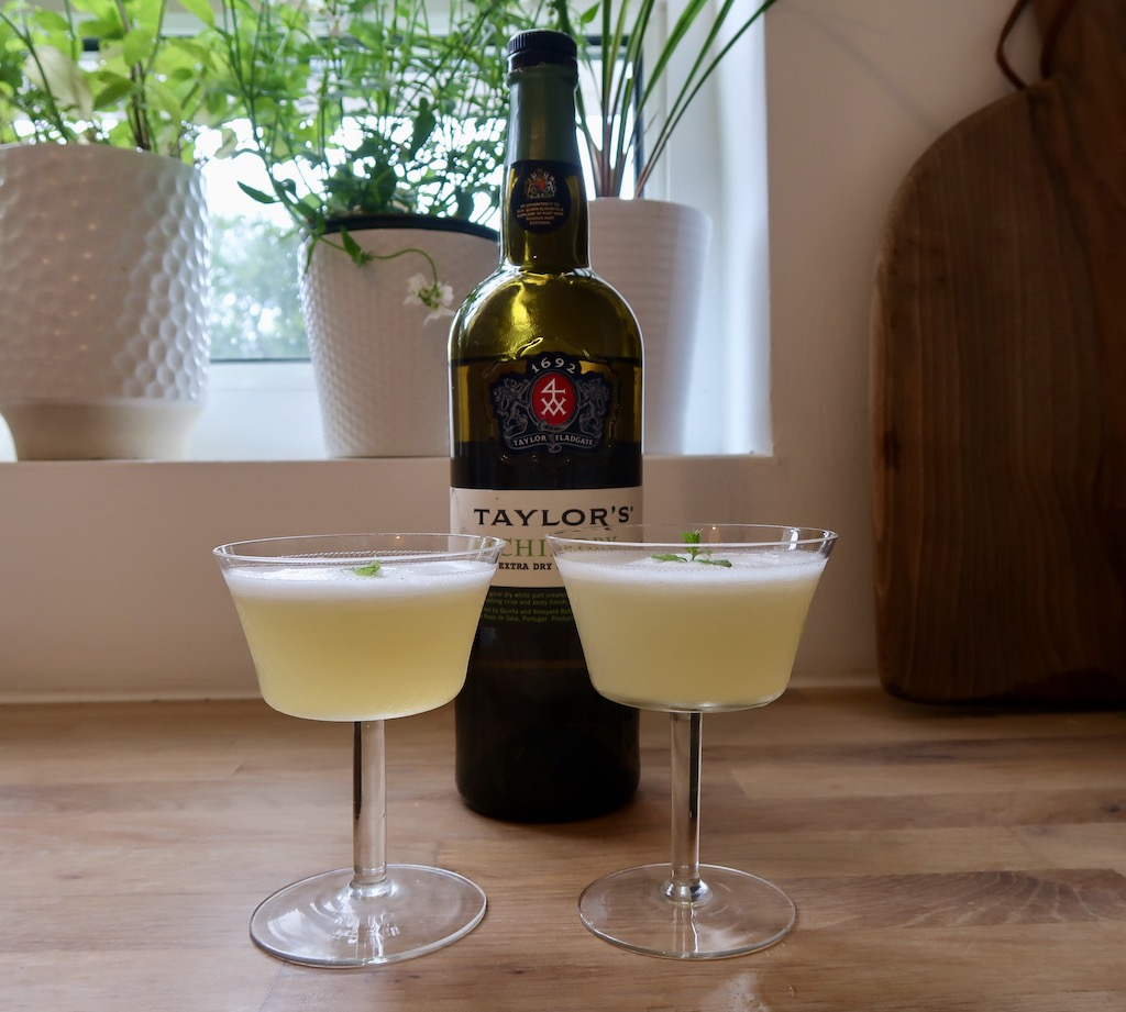 Taylor's Chip Dry White Port - Canary cocktails