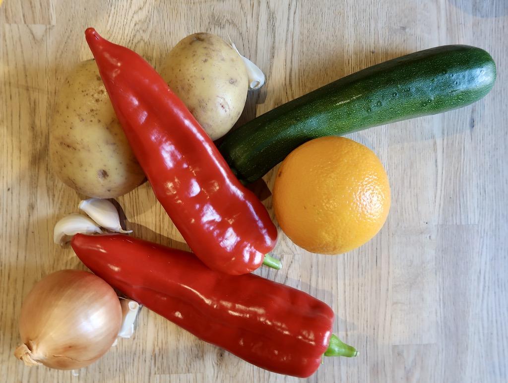 The Cookaway fruit & veg