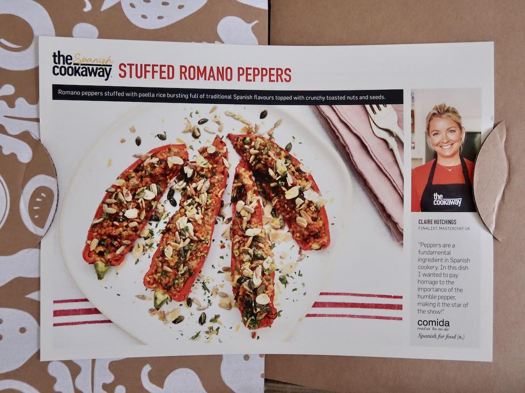 The Cookaway recipe cards