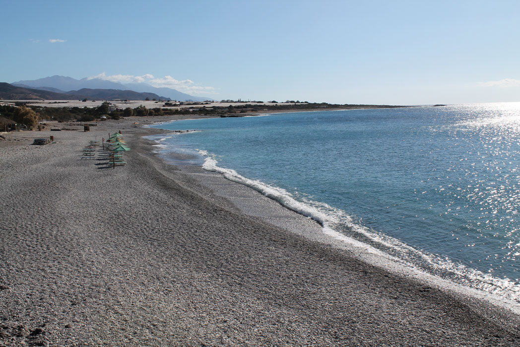 beach near paleochora