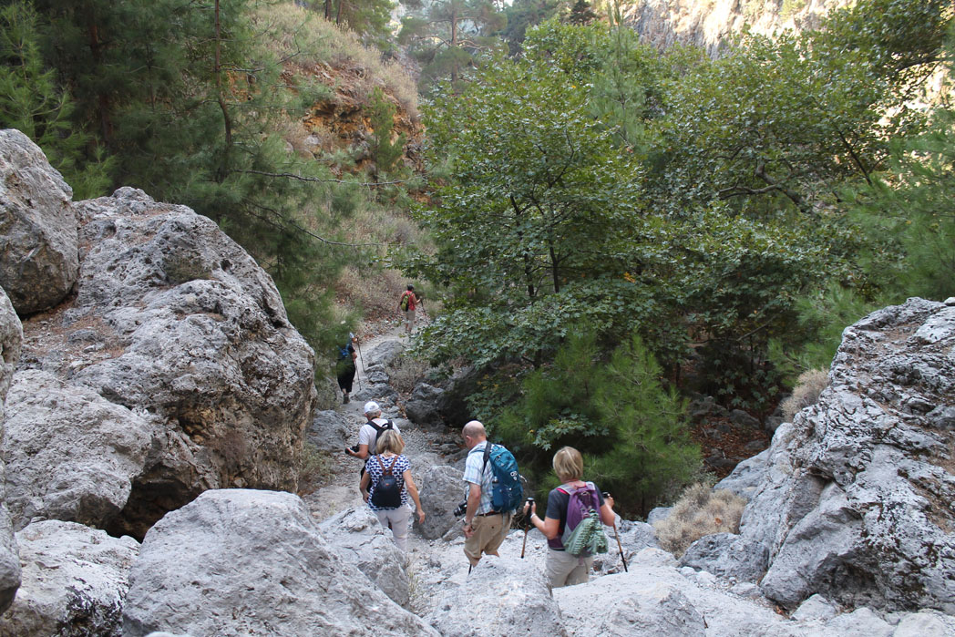 Stirene Gorge Crete - Walking Holiday