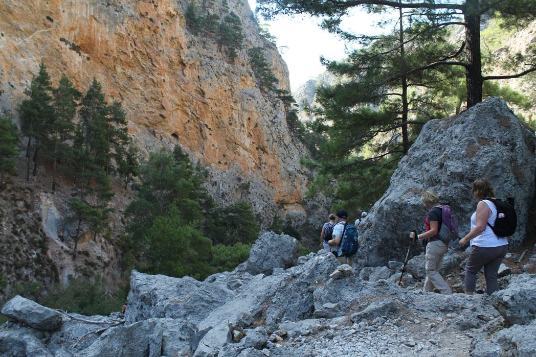 Stirene Gorge Crete