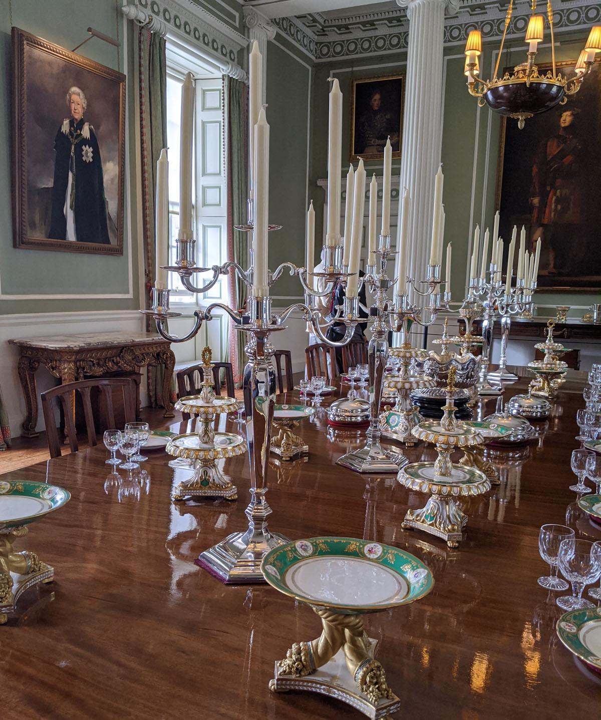 Banqueting Room Holyrood Palace