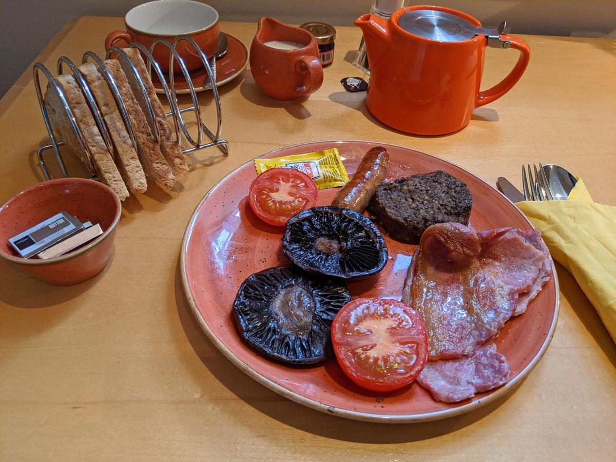 Breakfast in my Room Salisbury Green Hotel