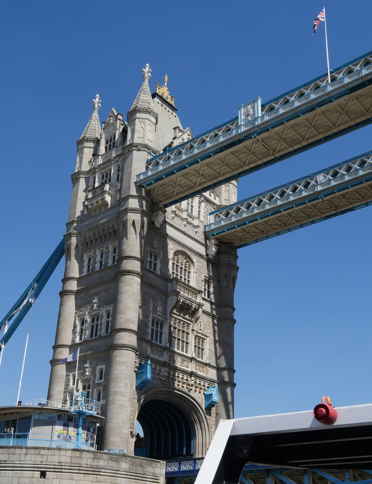 City Cruises Under the bridge