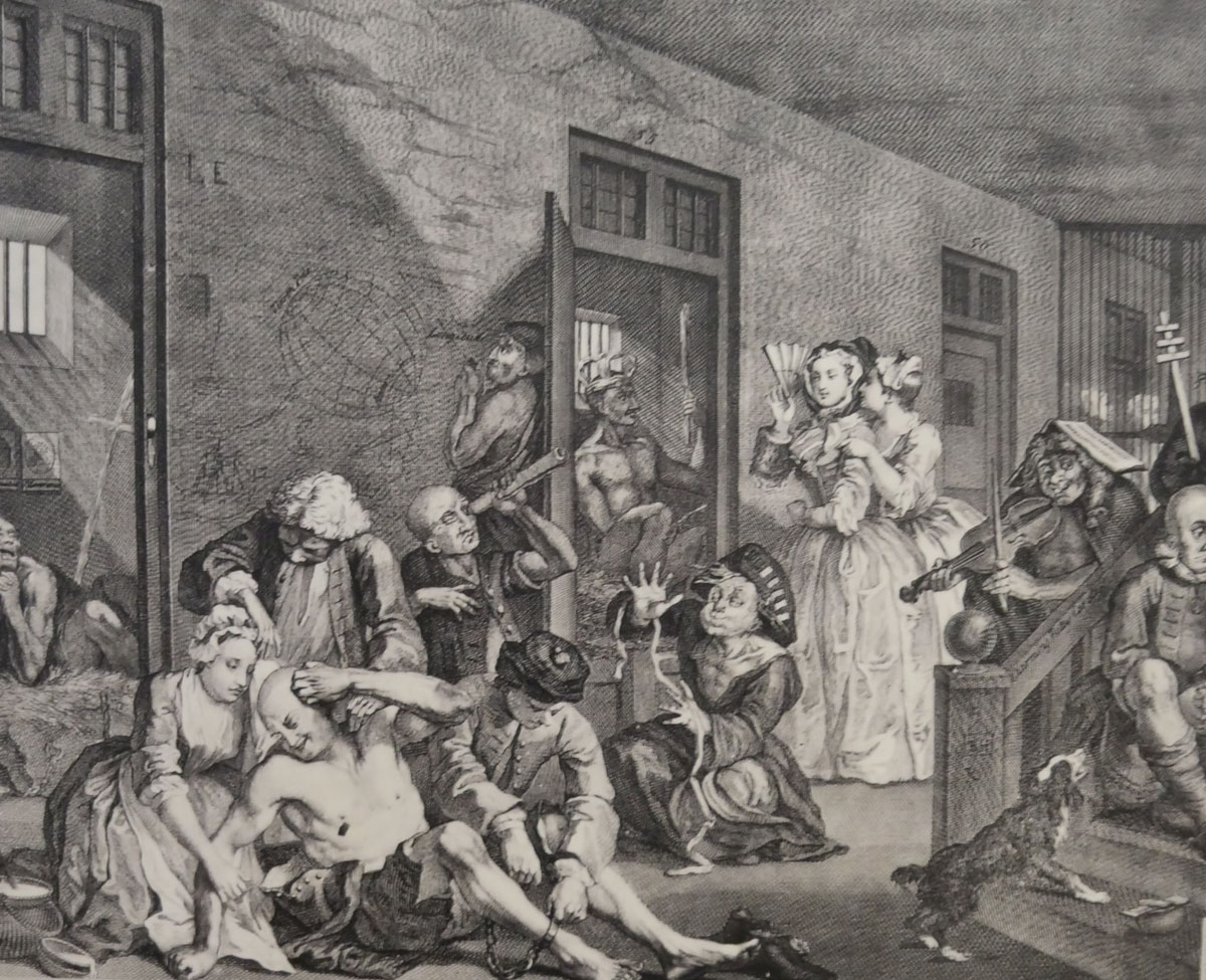 Hogarth etching - Royal Obervatory