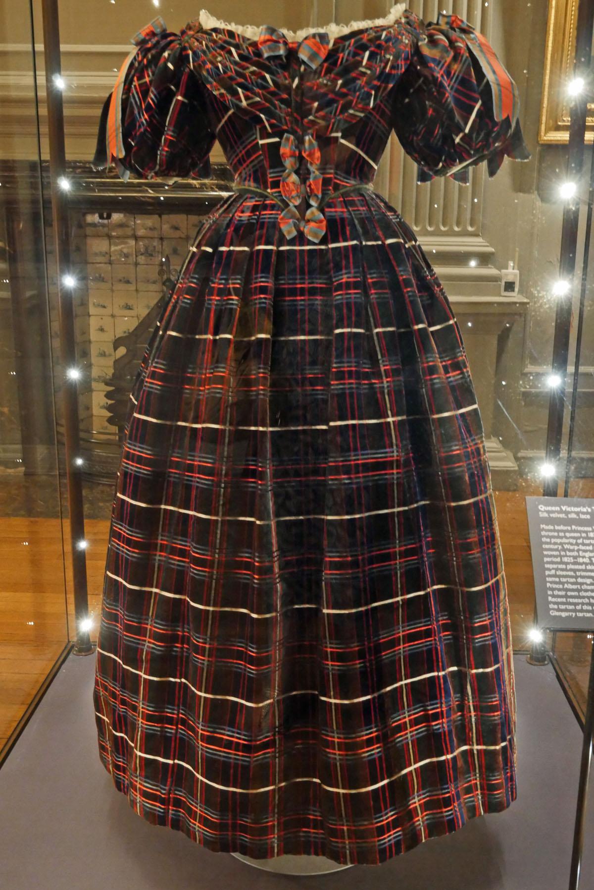 Holyrood - Victoria Tartan Dress